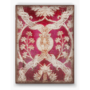 Sid Dickens Memory Block T369: Red Silk