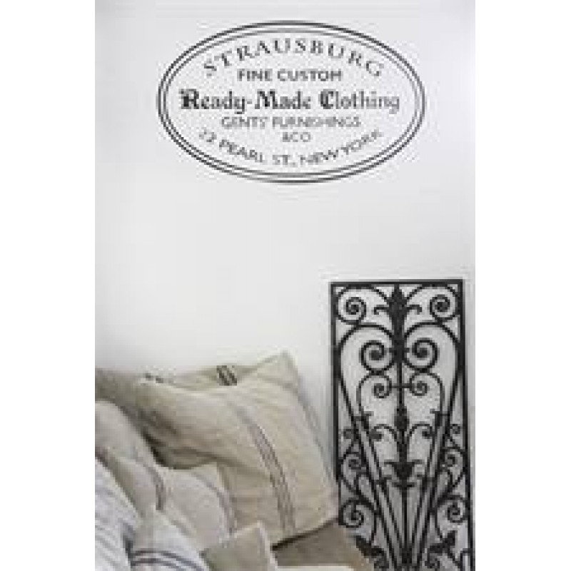Ready Made Clothing : Ready made clothing french stencil stencils diy