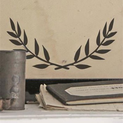 Olive Branch Poster Self Adhesive Stencil