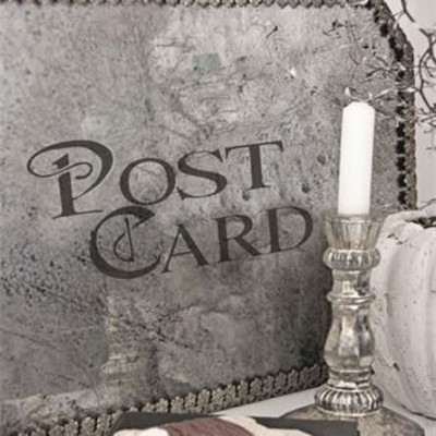Post Card Self Adhesive Stencil