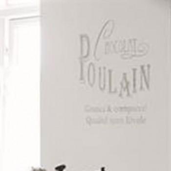 Chocolat Poulain French Stencil