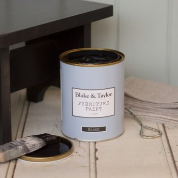 Black Vintage Furniture Paint (1L)