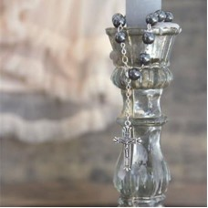 Peaceful Faith Rosary Beads