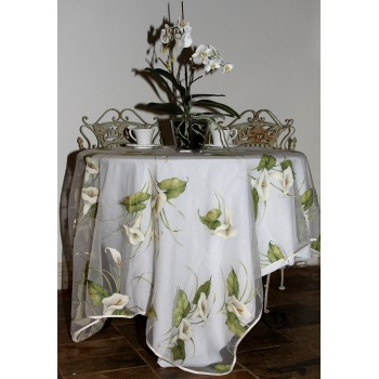 Organza Tablecloth (Arum Lily)