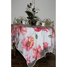 Organza Tablecloth (Poppy Red)