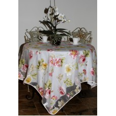 Organza Tablecloth (Pink Wild Rose)