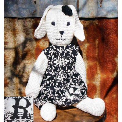 Hand Crocheted Rosie