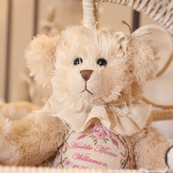Personalised Lily Heritage Birth Bear