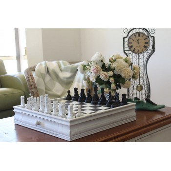 White Chess Set