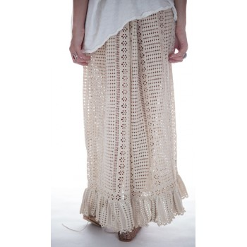 Magnolia Pearl Cotton Crochet Cosi Skirt