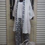 Antique Rose Bathrobe and Pyjama Set