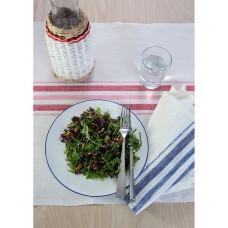 French Linen Table Runner (Red)
