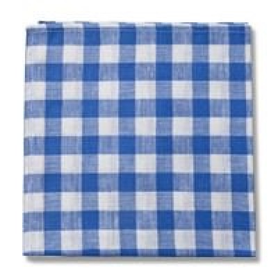 Country Checks Napkin (Blue)