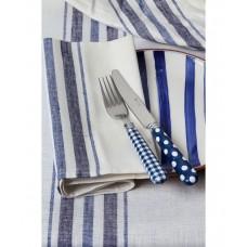 French Linen Napkin (Blue)