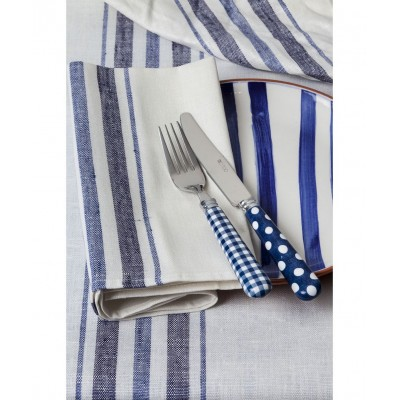 French Linen Napkin (Blue)