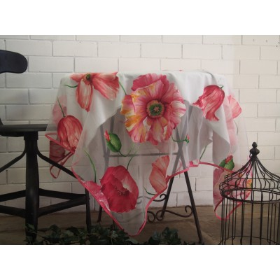 Rosella Tablecloth Red Large