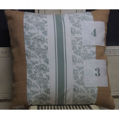 French Numbers Cushion