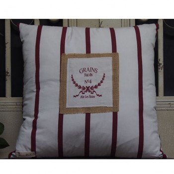 French Grains Sac de Cushion