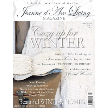 Decorating with Old Fabrics and Lace by Jeanne d'Arc Living (January 2013)