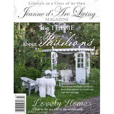 Gazebos and Outdoors by Jeanne d'Arc Living (July 2013)