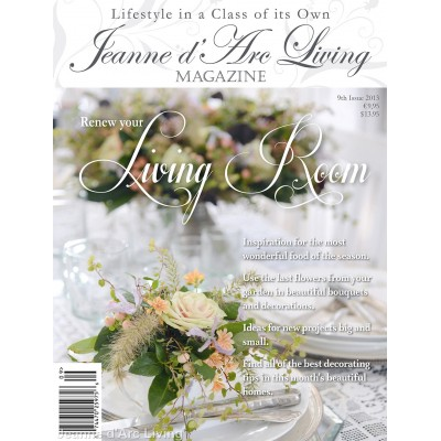 The Living Room by Jeanne d'Arc Living (September 2013)