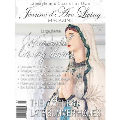 Wonderful living rooms by Jeanne d'Arc Living (August 2015)