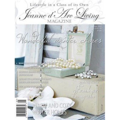 Warm and Cozy Homes by Jeanne d'Arc Living (January 2015)