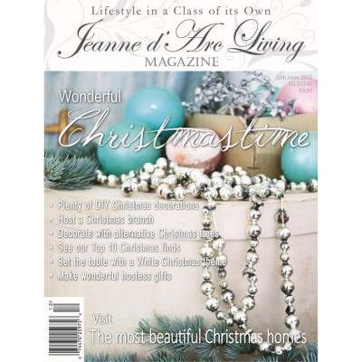 Wonderful Christmas Time by Jeanne d'Arc Living (December 2015)