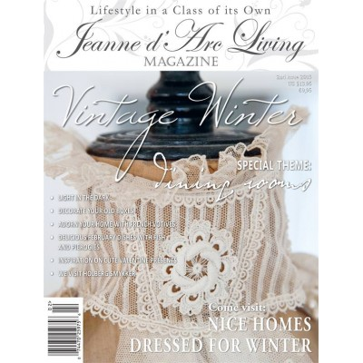 Vintage Winter by Jeanne d'Arc Living (February 2015)