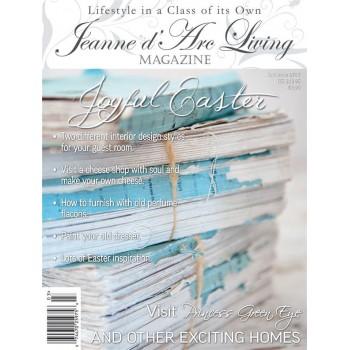 Joyful Easter by Jeanne d'Arc Living (March 2015)