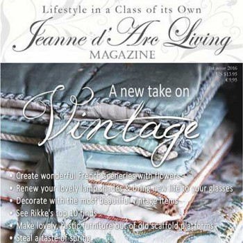 A New Take on Vintage by Jeanne d'Arc Living (January 2016)