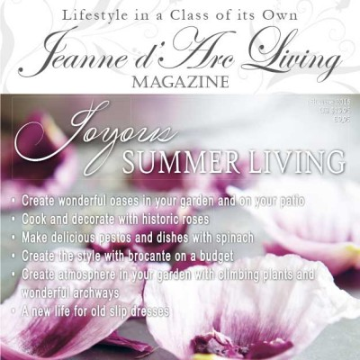 Joyous Summer Living by Jeanne d'Arc Living (June 2016)