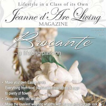 Brocante: A Lifelong Passion by Jeanne d'Arc Living (March 2016)