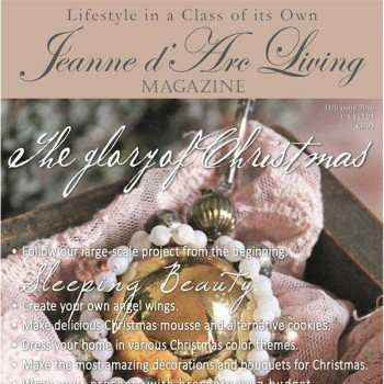 The Glory of Christmas by Jeanne d'Arc Living (November 2016)