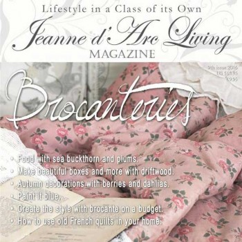Brocanteries by Jeanne d'Arc Living (September 2016)