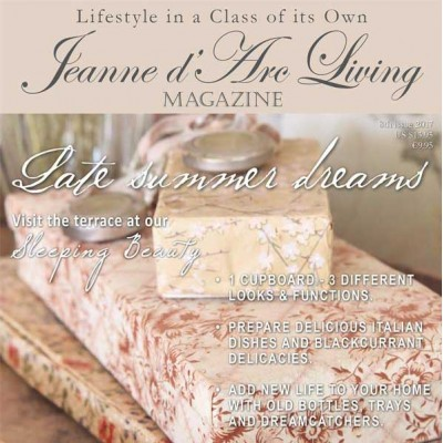 Late Summer Dreams by Jeanne d'Arc Living (August 2017)