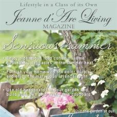 Sensuous Summer by Jeanne d'Arc Living (July 2017)