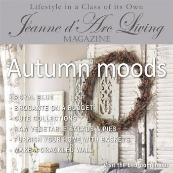 Autumn Moods by Jeanne d'Arc Living (October 2017)