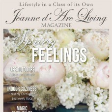 Spring Feelings by Jeanne d'Arc Living (April 2018)