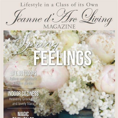 Spring Feelings by Jeanne d'Arc Living (3rd Edition, April 2018)