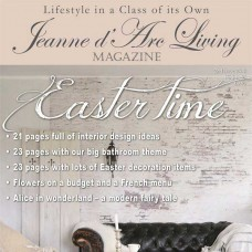 Easter Time by Jeanne d'Arc Living (February 2018)