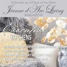 Evocative Kitchens by Jeanne d'Arc Living (January 2018)