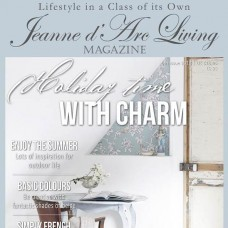 Holiday Time with Charm by Jeanne d'Arc Living (July 2018)