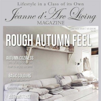 Rough Autumn Feel by Jeanne d'Arc Living (7th Edition, October 2018)