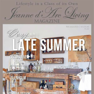Cozy Late Summer by Jeanne d'Arc Living (6th Edition, August 2019)