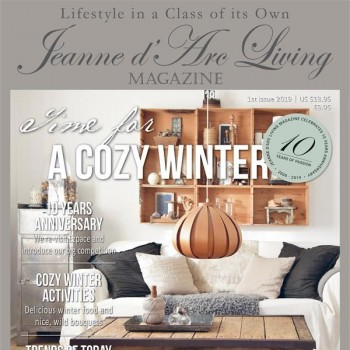 Time for a Cozy Winter by Jeanne d'Arc Living (1st Edition, January 2019)