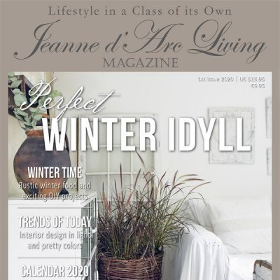 Perfect Winter Idyll by Jeanne d'Arc Living (1st Edition, January 2020)