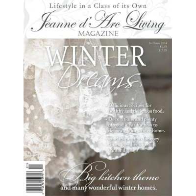 Winter Dreams by Jeanne d'Arc Living (January 2014)