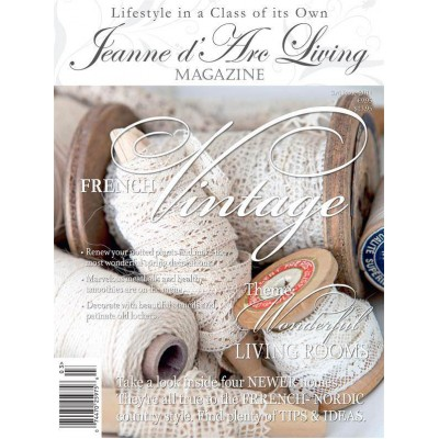 French Vintage by Jeanne d'Arc Living (March 2014)