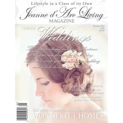 Weddings by Jeanne d'Arc Living (May 2014)